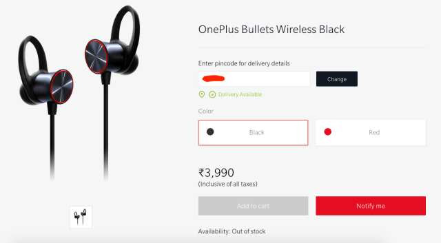Bullets Wireless always Out of Stock