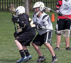 youth lacrosse teach body defense before stick checks