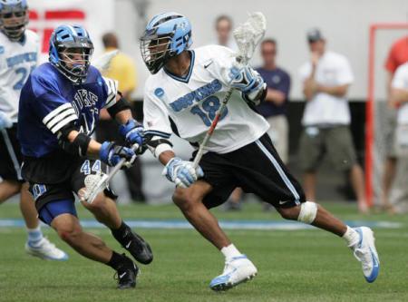 kyle harrison hopkins lacrosse dodge