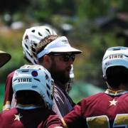 lacrosse coach mike j brand texas state university