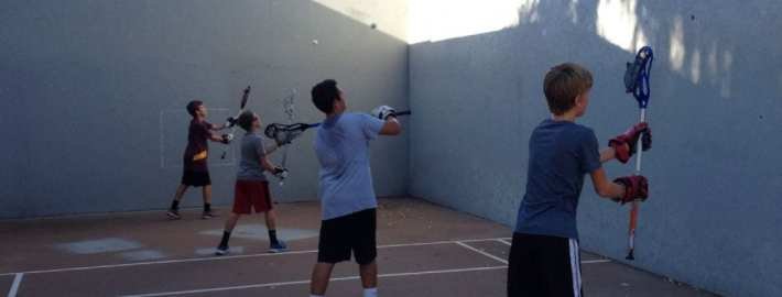 glendal lacrosse lax youth wall ball