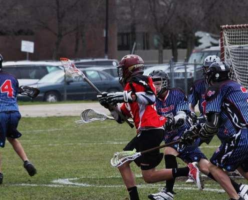 3 on 2 cross over practice box field lacrosse drill