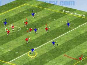 even man down defense penalty release play practice drill