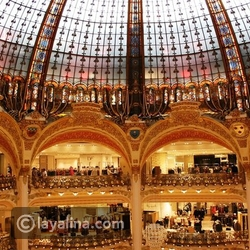 شهر العسل في باريس - مجمّعات باريس التجارية