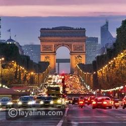 شهر العسل في باريس - الشانزلزيه