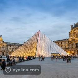 شهر العسل في باريس - متحف اللوفر