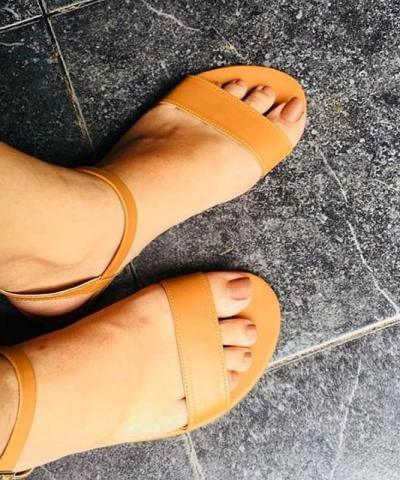 Laydeez Peep-Toe Sandals