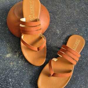 Laydeez Mahogany Sandals