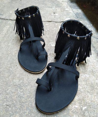 Laydeez Studded Gypsy Sandals
