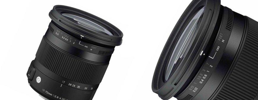 SIGMA 17-70 mm f/2.8-4.5 DC Macro OS HSM lens