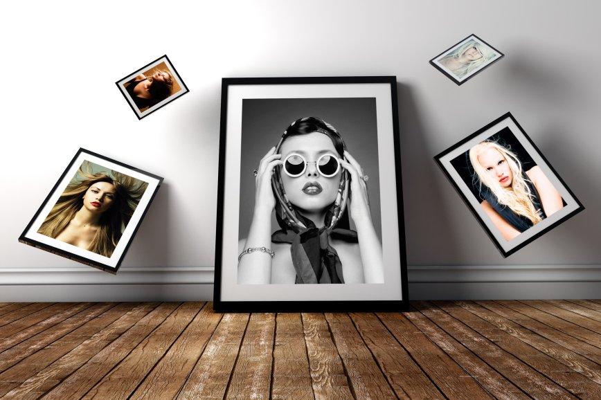 Photo Frame PSD Mockup