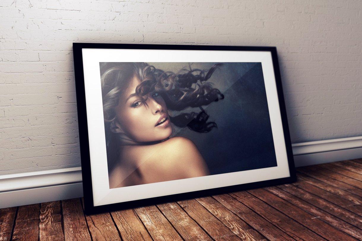 Photo Frame Mockup - Black