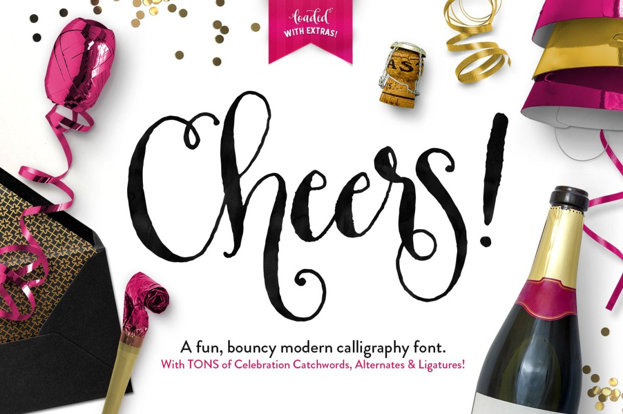 "Download Callie's Font ""Cheers"" here"" http://crtv.mk/d0Ygl"