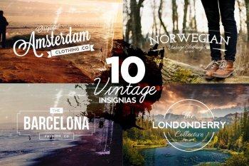 10 Vintage Logos