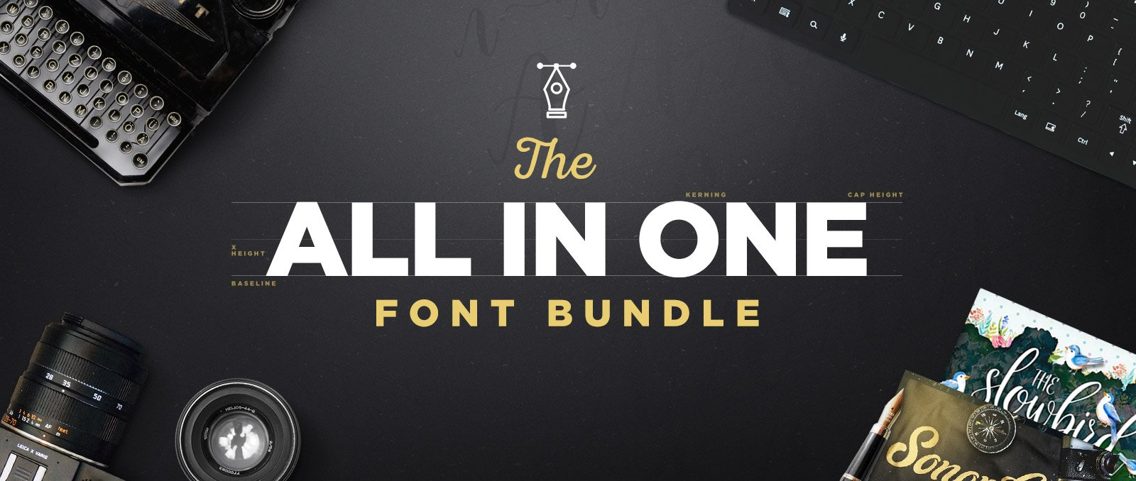 All-In-One-Font-Bundle