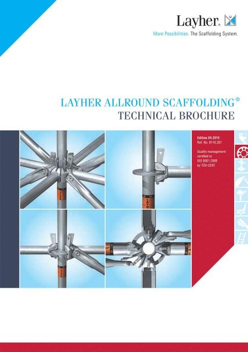 Layher Allround Scaffolding Technical Brochure