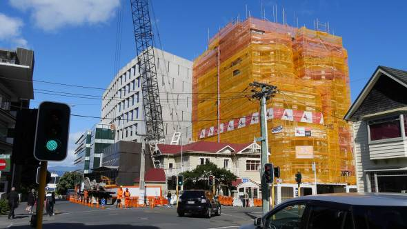 Revera House Demolition by Geeves Scaffolding