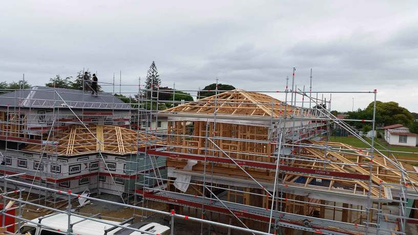Layher scaffolding the best and most versatile solution for residential builders