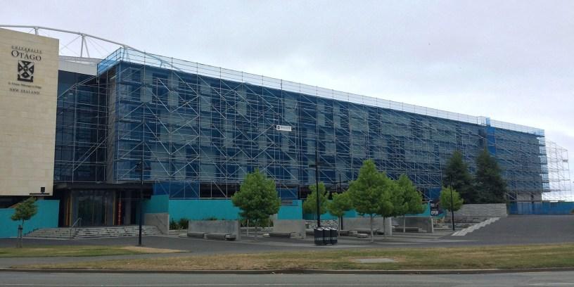 Brazier Scaffolding built a freestanding facade scaffold for maintenance works