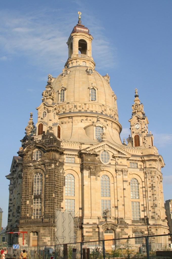 Frauenkirche Dresden dome required maintenance