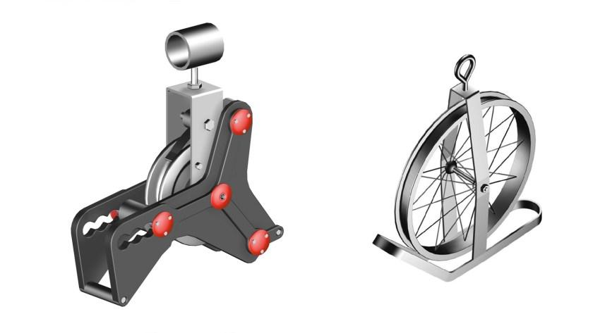 Gin wheel rope hoists