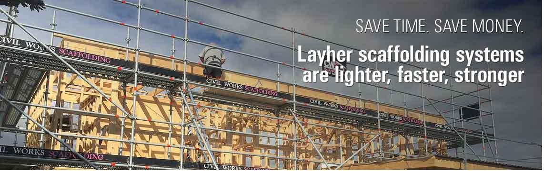 Scaffolding residential builders