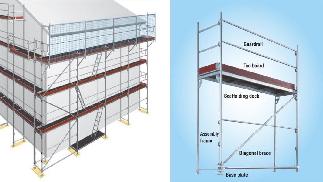 Layher SpeedyScaf frame based scaffolding system