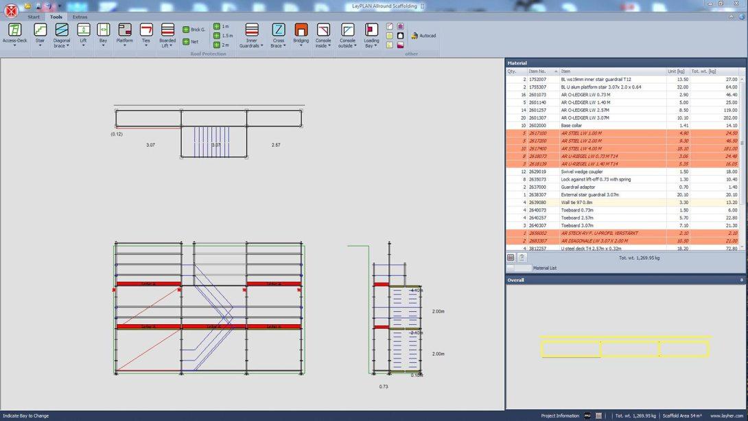 LayPLAN Scaffold Design Software
