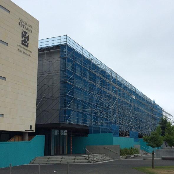freestanding facade scaffold