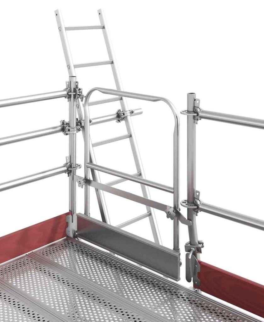 scaffolding safety gate
