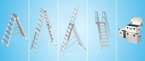 fotografía escaleras layher