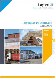 Portada catálogo sistemas de cubrición Layher