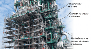 Seguridad en los andamios industriales