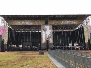 Layher en el Festival Extremusika 2018