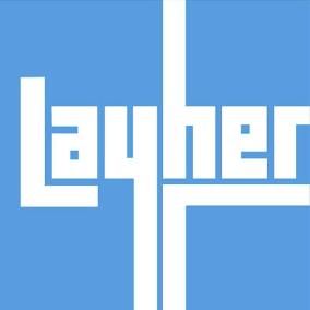 Logotipo de Layher sobre 1960