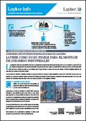 Layher Info andamios industriales