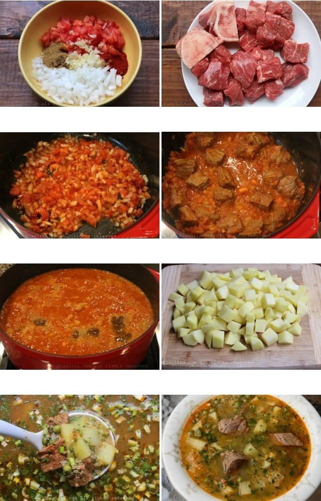 étapes et méthodes de préparation de la soupe au quinoa