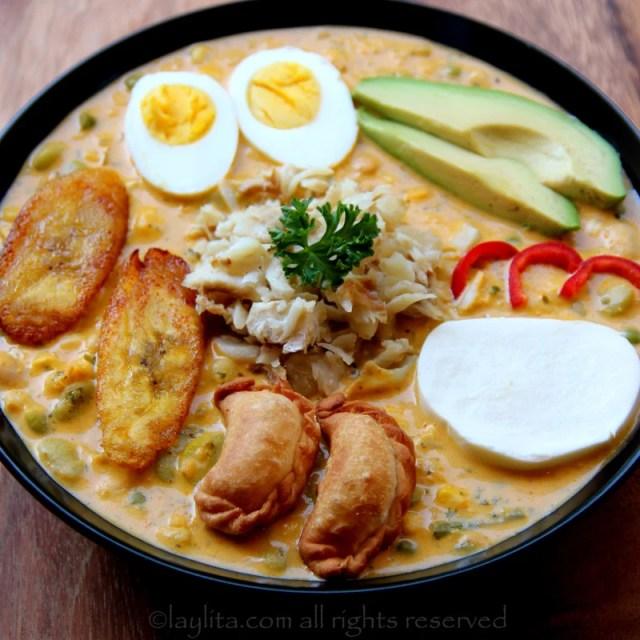 Fanesca or Ecuadorian Easter soup
