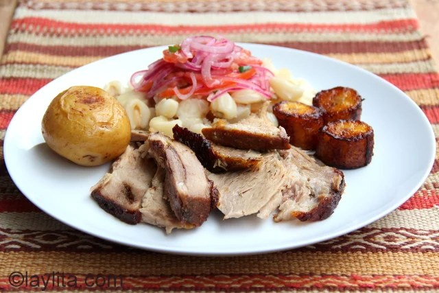 Roasted pork recipe