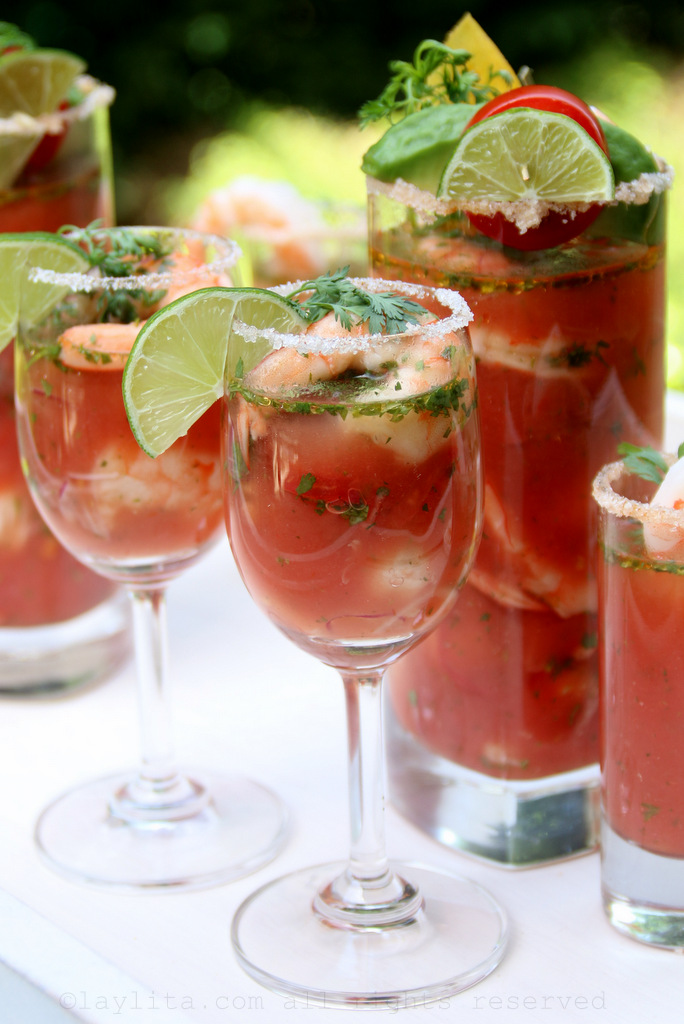 Ceviche Bloody Mary