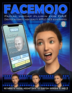 Face Mojo for Daz Studio