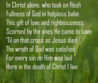 christ alone lyrics