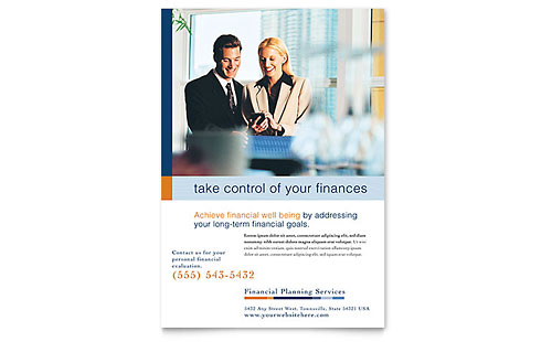 Financial Planning Amp Consulting Business Card Amp Letterhead Template Word Amp Publisher