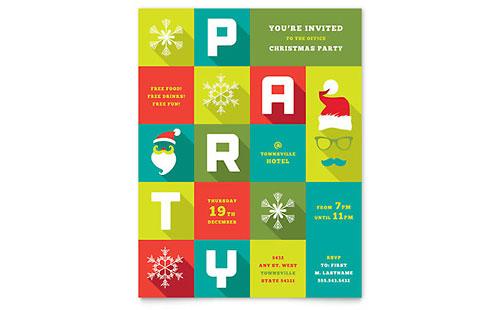 Ms Office Flyer Templates. holiday amp seasonal christmas ...