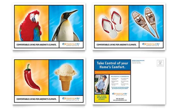 Insurance Postcards Ideas