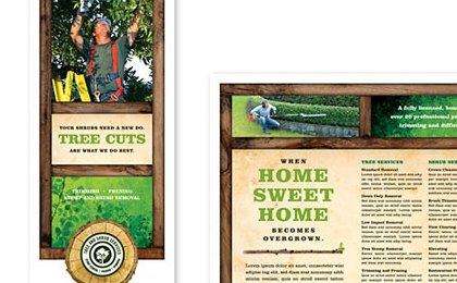 HD Decor Images » Tree Service Tri Fold Brochure Template   Word   Publisher