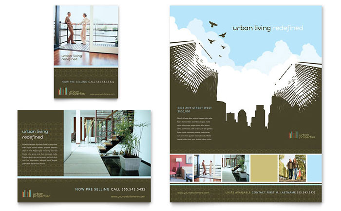Wedding Postcard Template Layout