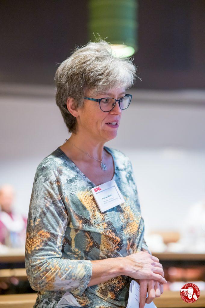 Susanne Müller, Müller Wellness, im BNI-Chapter Trollinger Heilbronn