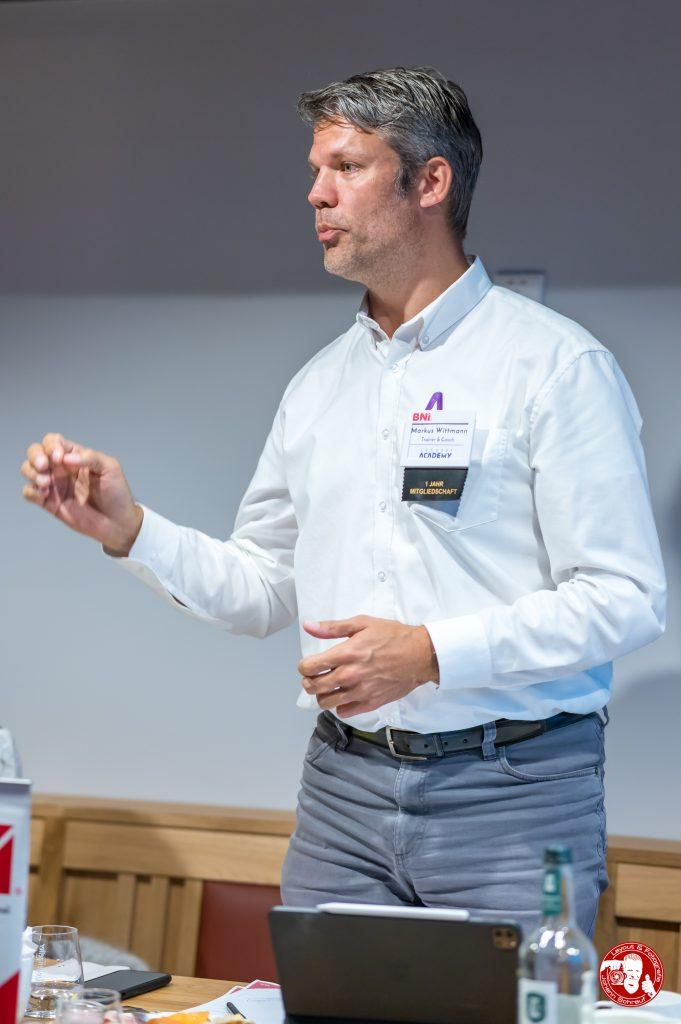 Markus Wittmann, Chapterdirektor im BNI-Chapter Trollinger Heilbronn
