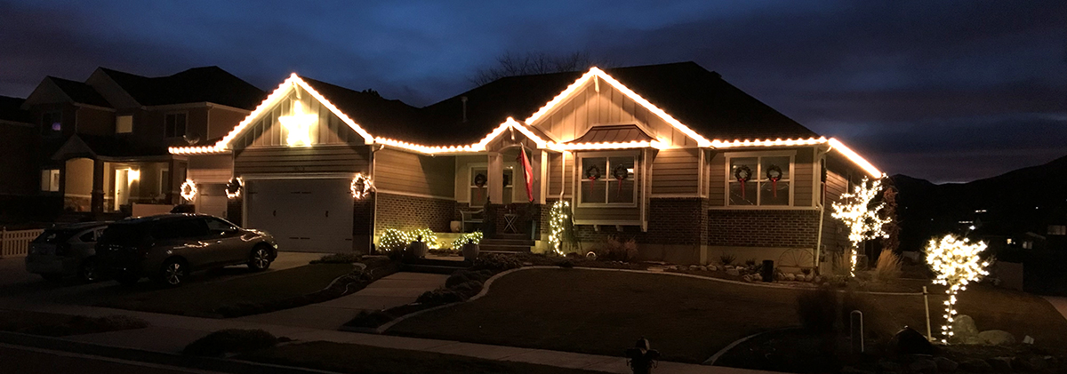 Hanging Christmas Lights Follow These Safety Tips Layton Construction